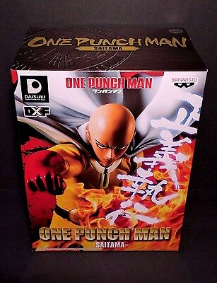 NEW DXF One-Punch Man Saitama Figure Banpresto Anime