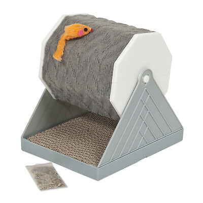 Petmate Cat Scratching Wheel With Mouse Cat Scratcher Fun Spinning