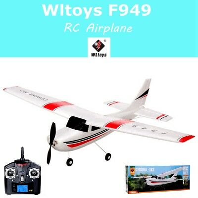 100% Original Wltoys F949 2.4G 3CH RC Airplane Fixed Wing Plane Outdoor Toys RTF