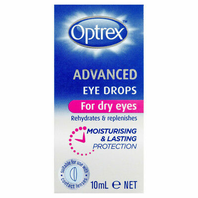 Optrex Advance Eye Drops 10Ml NEW Cincotta Chemist