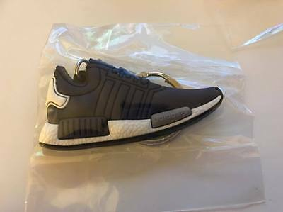 Adidas NMD Keychain Navy Boost Black Sneaker Key chain Shoes USA SELLER