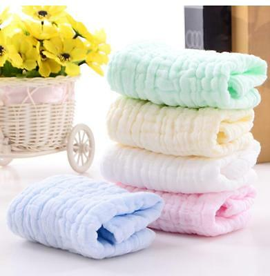 Six Layers Cotton Gauze Towel Small Towel Folded Handkerchief Children Slobber