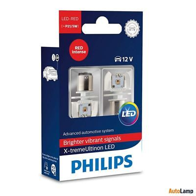 PHILIPS X-tremeUltinon LED P21/5W BAY15d 1157 Stop lampada Rosso 12899RX2 Set
