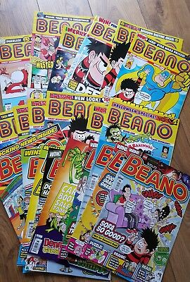 beano comics mixed bundle 2016 Jan to June