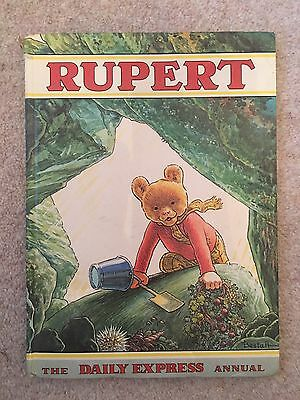 The Daily Express Rupert The Bear Annual 1971 Vintage