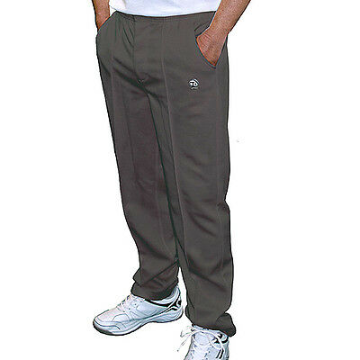 T. Taylor Gents Grey Sports Bowls Trousers - Updated - Full Elasticated Waist..