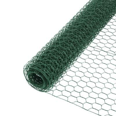 Chicken Wire PVC Coated Green Plastic Coated Wire Netting - Chicken Coop / Runs