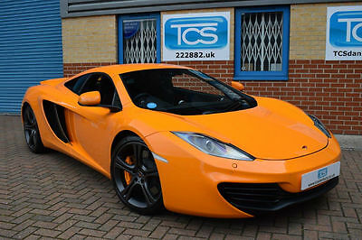 McLaren MP4-12C Coupe 7-Speed Double-Clutch Automatic