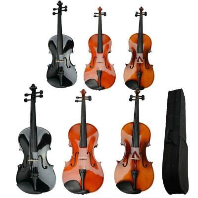 """New 15""""/16"""" High Quality Acoustic Viola + Case + Bow + Rosin"""