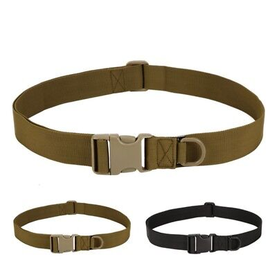 Men Adjustable Tactical Belt Buckle  UsefulWaistband Military Rescue Rigger Tool