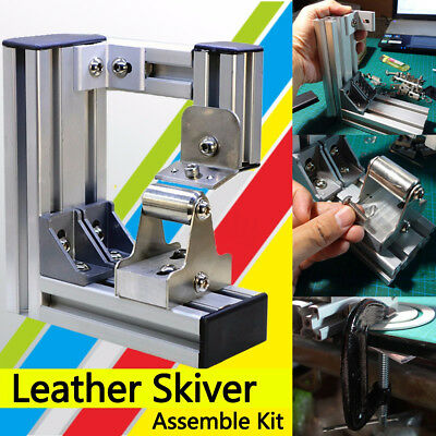 Leather skiving Skiver Splitter Machine Peeler Cutter Craft Tools With Blade AU