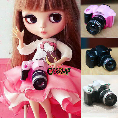 1/3 3/4 DIY Doll BJD Camera Toy Mini Digital Dollfie DOD Accessory