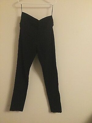 Ripe Black Maternity Pants - Tapered Leg - Vgc - Size Small