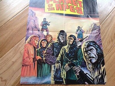 marvel planet of the apes poster from 1974