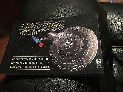 Star Trek Next Generation POSTCARDS (30 CARDS SET) RARE