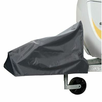 Universial Fit A-Frame Caravan Tralier Towing Hitch Cover Grey