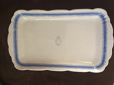 Hotel Savoy Seattle Early 1900's Burley & Company Chicago Serving Platter