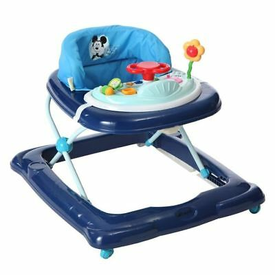 DISNEY Baby Trotteur Mickey Player Bleu