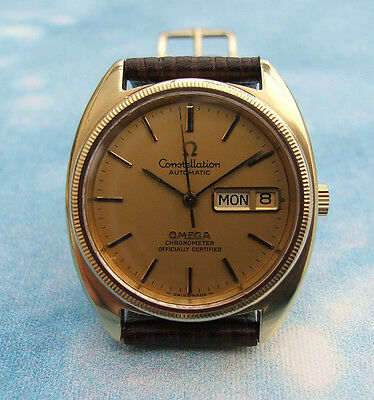 OMEGA Constellation Chronometer Gents 1021 Automatic, SERVICED, 1975 Vintage!