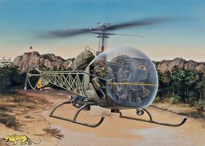 Bell OH-13S Sioux - 1:48 - Italeri 857
