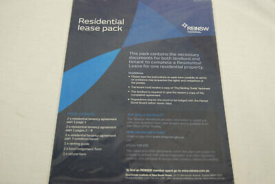NSW Residential Lease Packs