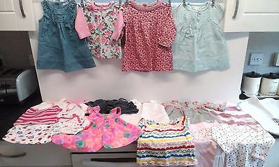 Large Bundle of Baby Girl Clothes - Various Brands and Sizes