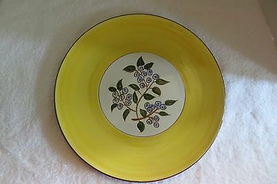 Stangl --  Blueberry Hand Painted Platter -- Excellent Condition