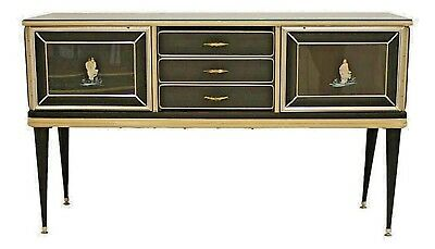 Italian 1950's Chinoiserie Decorated Sideboard