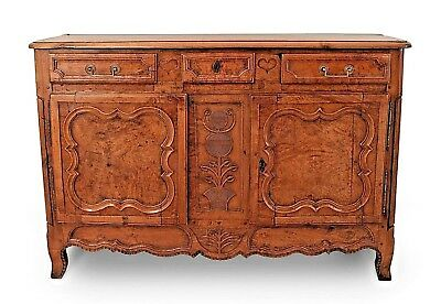 French Provincial Louis XV (18th Cent.) Walnut Commode