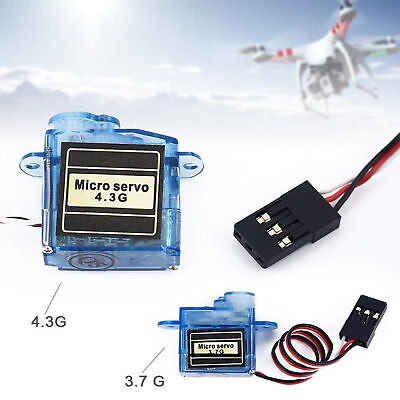 MiNi Micro 4.3g/3.7g  Servo For Control Aeromodelling Aircraft Flight Direction