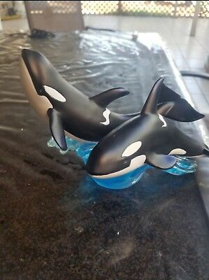 Orca Travelling Killer Whales Figurine