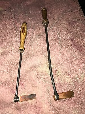 antique  copper head  rotating wedge hammer soldering tool jewelry maker tool