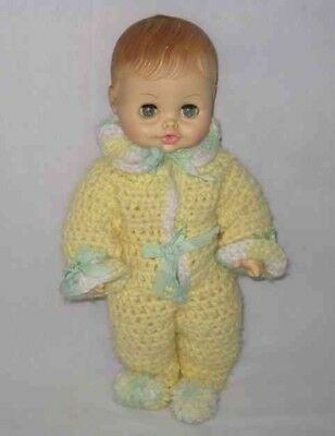 "SO CUTE Vintage 13"" Horsman BABY Doll"