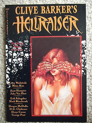 Clive Barker Hellraiser book 9 graphic novel