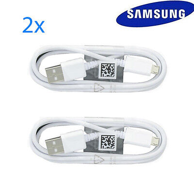 2Pack 4Ft Fast Charge Micro USB Cable OEM Samsung Galaxy S6 Edge S7 Note 4/5