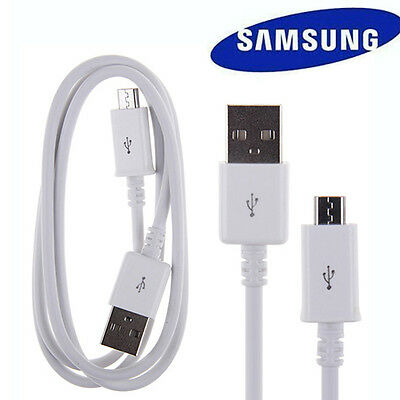 Samsung Galaxy S4 S6 S7 Note 4/56.OEM Micro USB Sync Charging Cable 6 FT White