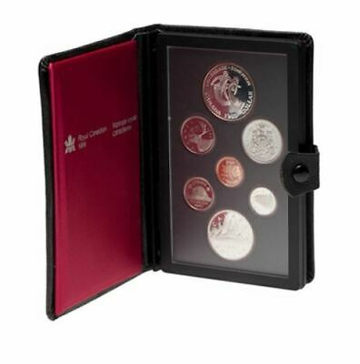 1983 Canadian Proof Double Dollar Set