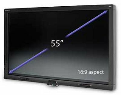 "New SMART 8055i (SBID855i) 55"" SmartBoard Interactive LED Touchscreen Display"