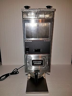 Bunn Ig9-2T Portion Control Commercial Coffee Precision Grinder 2 Hoppers