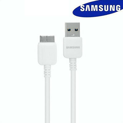 New USB 3.0 Fast Charger Data Sync  Cable for Samsung Galaxy Note3 S5 White 5Ft