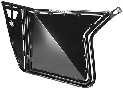 Pro Armor Suicide Doors without Cut Outs Black for Polaris RZR S 800 2014