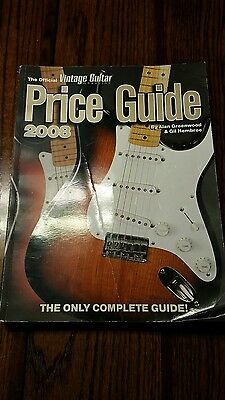 The Official Vintage Guitar Price Guide  2008