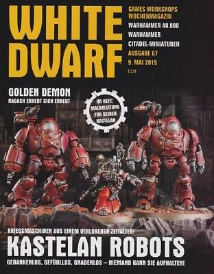 White Dwarf 67 May 2015 (German) by the 9 May 2015 Games Workshop
