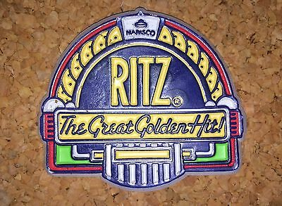 1991 Ritz Crackers Nabisco Fridge Magnet The Great Golden Hit!