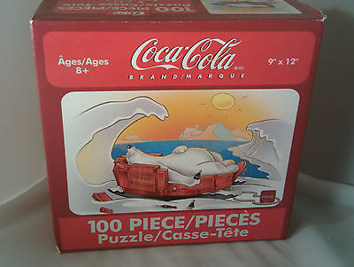 Coca Cola 100 piece Puzzle Karmin International 2004 Made In USA Sealed (B) Coke