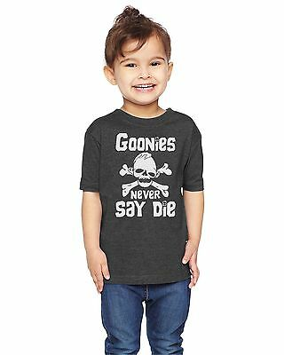 Goonies Never Say Die The Goonies Sloth  80's Unisex Toddler T-Shirt