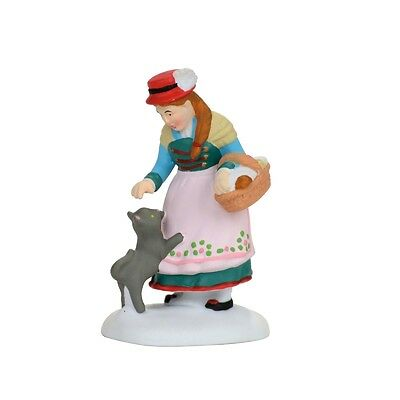 """Dept 56 Alpine Village """"FRIENDLY WELCOME HOME"""" NEW 2017 FREE SHIPPING"""