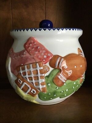 Bath And Body Works Cookie Jar 1997 Gingerbread. (USED)