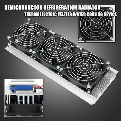 180W Semiconductor Refrigeration Radiator Thermoelectric Peltier Water Cooler