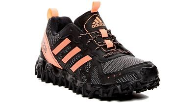 classic fit c3e16 2c2e9 Adidas Running Shoes Womens 7 Incision Trail Black Pink C145